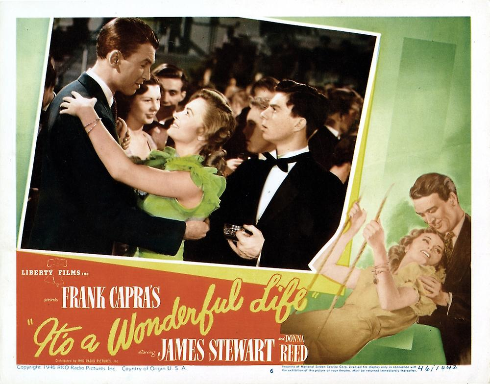 It's a wonderful life movie poster clip art