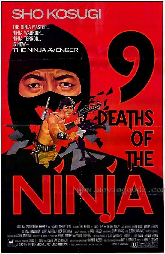 9 смертей ниндзя 1985 nine deaths of the ninja -