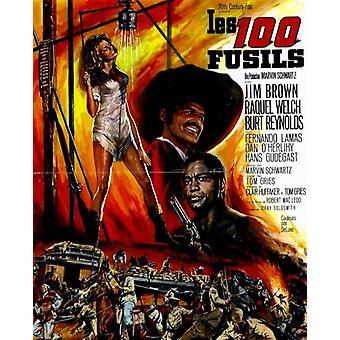 100 rifles movie