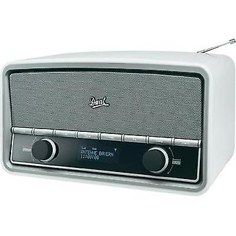 DAB+ Table top radio Dual NR 5 AUX, Bluetooth, DAB+, FM White (glossy)