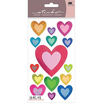 Sticko Stickers-My Hearts E5200085