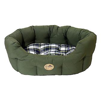 40 Winks Oval Sleeper Country Green 50cm (20