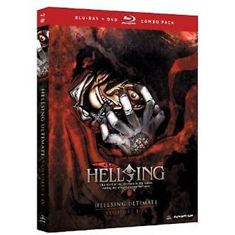 Hellsing Ultimate : Vol. 1-4-Box Set [BLU-RAY] USA import