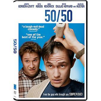 50/50 [DVD] USA import