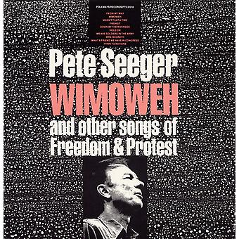 Pete Seeger - Wimoweh & Other Songs of Freedom & Protest [CD] USA import