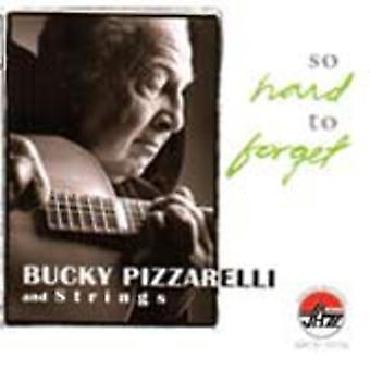 Bucky Pizzarelli & Strings - så svært at glemme [CD] USA importere