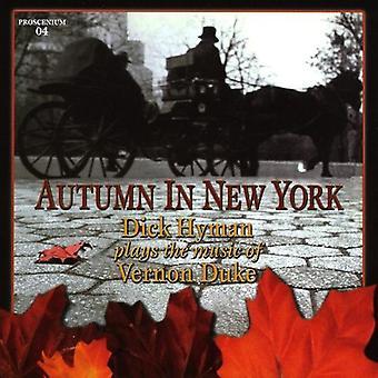 Dick Hyman - efterår i New York-Dick Hyman spiller musik af V [CD] USA importerer