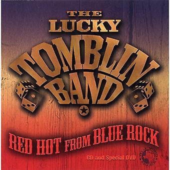 Heldig Tomblin Band - Red Hot fra Blue Rock [CD] USA import