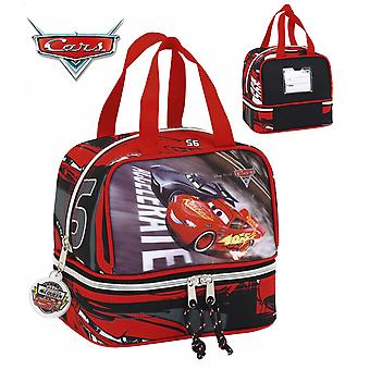 Safta Cars Portameriendas Doble Fondo 20X20X15 (Toys , School Zone , Backpacks)
