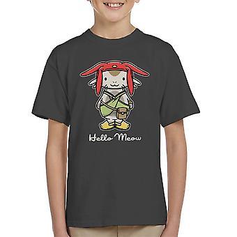 Hej mjave plads Dandy Kitty børne T-Shirt