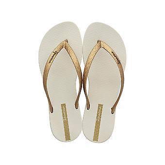 Ipanema Wave Damen Flip Flops / Sandalen - Beige und Gold