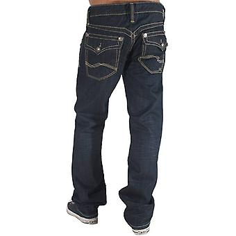 De Cru Mae Fit Jeans Manhattan Wash klinknagel