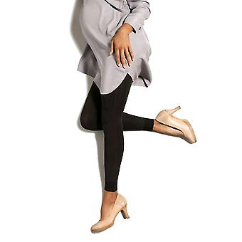 Therafirm Preggers Footless Maternity Support Tights [Style DP1] Black  S