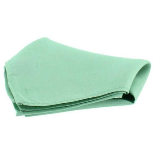 David Van Hagen Satin Silk Handkerchief - Mint