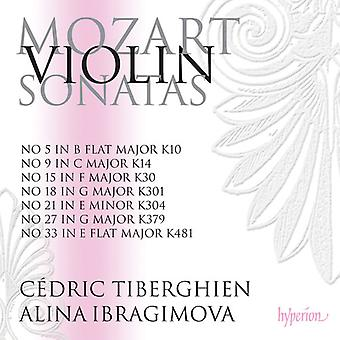 Mozart - Violin sonater Nos.5; 9. 15. 18. 21. 27 & 33 [CD] USA import