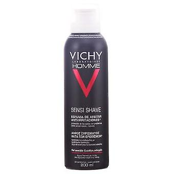 Vichy Vichy Homme Shaving Foam Sensitive Skin 200 Ml
