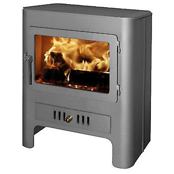 AFT Painted Wood stove Chapa Black Horizontal Output 585 Ø120