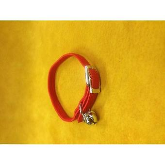 Cat Collar Nylon Stretch Red