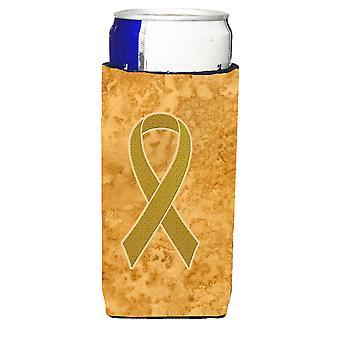 Goldband für Kindheit Krebserkrankungen Bewusstsein Ultra Getränke Isolatoren für schlanke c