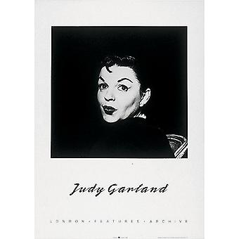 Stampa del manifesto di Judy Garland e nero (20 x 28)