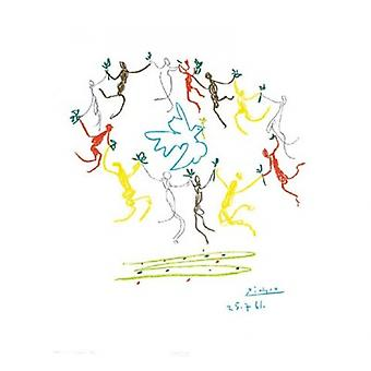 Dance of Youth (S-Litho) Poster Print by Pablo Picasso (18 x 20)