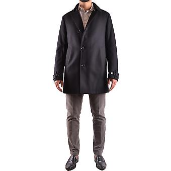 Allegri men's MCBI427006O Black wool coat