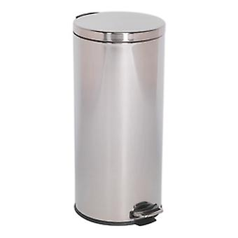 Sealey Bm71 Pedal Bin 30Ltr Stainless Steel