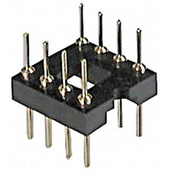 IC adapter socket Contact spacing: 7.62 mm Number of pins: 14 ASSMANN WSW