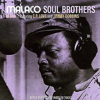 Malaco Soul Brothers - Vol. 2-Malaco Soul Brothers [CD] USA importerer