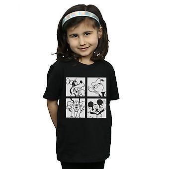 Disney Girls Mickey, Donald, Goofy and Pluto Boxed T-Shirt