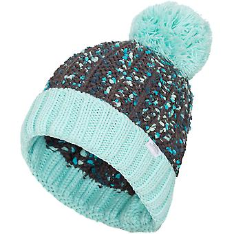 Trespass Womens/Ladies Eloise Knitted Acrylic Pom Pom Beanie Hat