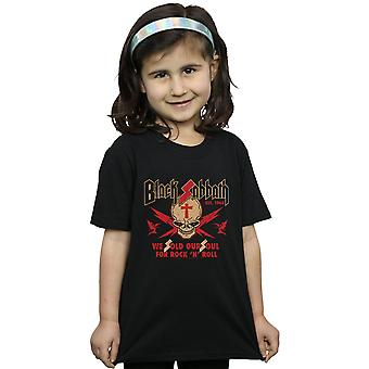 Black Sabbath Girls Skull Crest T-Shirt