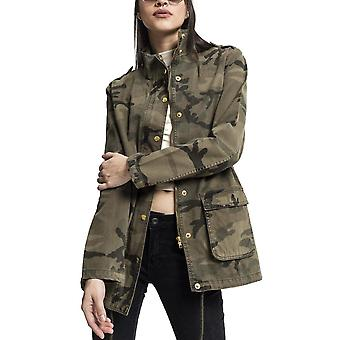 Urban classics ladies - COTTON PARKA jacket wood camo