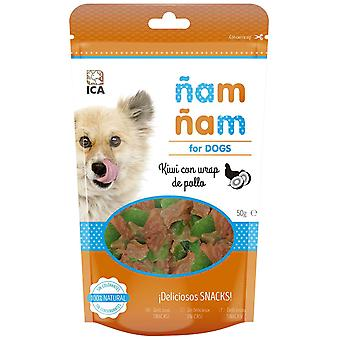 Ica Kiwi with Chicken Wrap 50G (Dogs , Treats , Chewy and Softer Treats)
