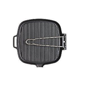 Chasseur Smooth-Base Wire Handle Square Grillpan 27cm 11832721