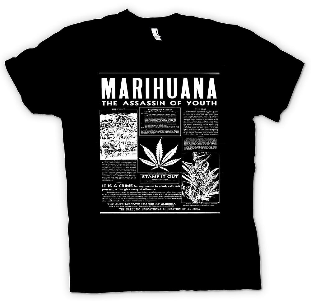 Kids T-shirt - Marihuana Hash - Assassin Of Youth