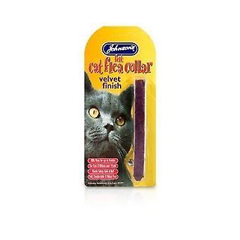 Johnsons Cat Collar Velvet x 2 pack