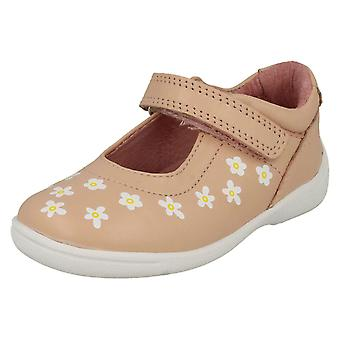 Girls Startrite Casual Flat Shoes Shine - Pink Leather - UK Size 5G - EU Size 21.5 - US Size 6