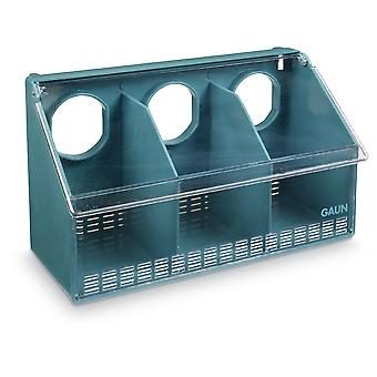 Gaun Feeder Pigeons 3 Holes (Birds , Feeders & Water Dispensers , Aviary and Garden)
