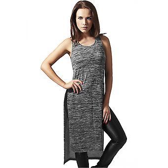 Городские классики Дамы платье Меланжевый HiLo длинный топ