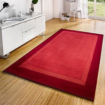 Design velour carpet tape Red