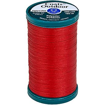 Outdoor Living Thread 200yd-Red Cherry