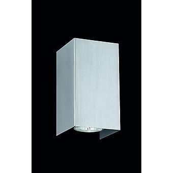 エンリコ ・近代照明トリオ ニッケル マット金属壁ランプ