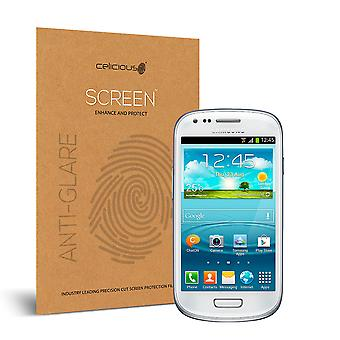 Celicious Matte Anti-Glare Screen Protector for Samsung Galaxy S3 Mini [Pack of 2]