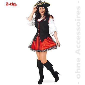 Señora Seeräuberin princesa pirata pirata las señoras traje de pirata