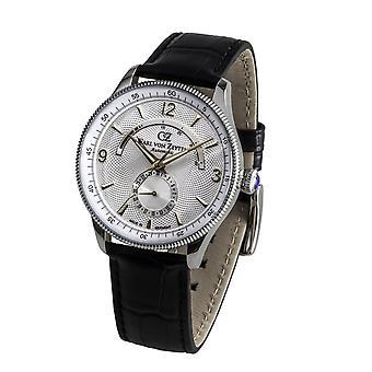 Carl of Zeyten men's watch wristwatch automatic Neuschwanstein CVZ0032WH