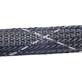HellermannTyton 170-50030 HEGPV0X03-PBT-BK-C4 Helagaine Braided Hose HEGPV0X Black, Grey