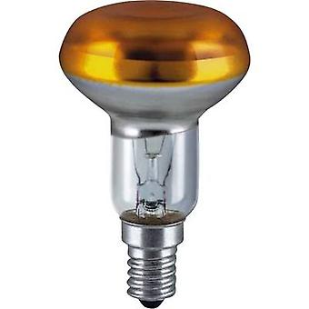 OSRAM Light bulb 86 mm 230 V E14 40 W Yellow Reflector bulb dimmable Content 1 pc(s)