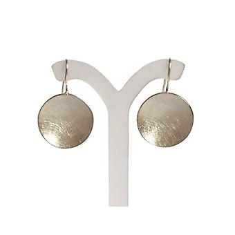 Earrings, 925 Silver shell earrings shell matte earrings silver disc