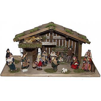 Wieg Nativity kerst geboorte stabiel DANIEL houten wieg